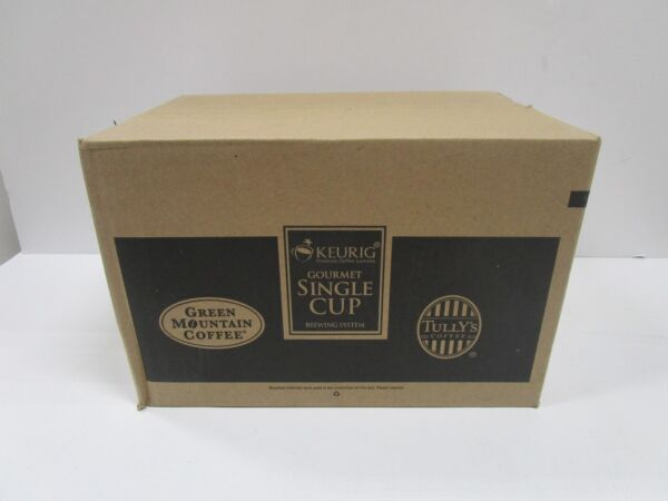 Green Mountain TULLY'S REGULAR VARIETY Coffee Keurig K-Cups 96-Count 4X24 Packs