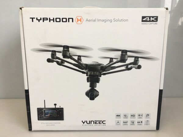 Yuneec Typhoon H w/CG03 +4K Camera Video Capture Hexacopter Drone