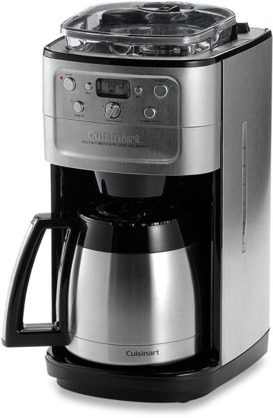 Coffee Maker Machine 12 Cup Automatic Programmable Bean Grinder Stainless Steel