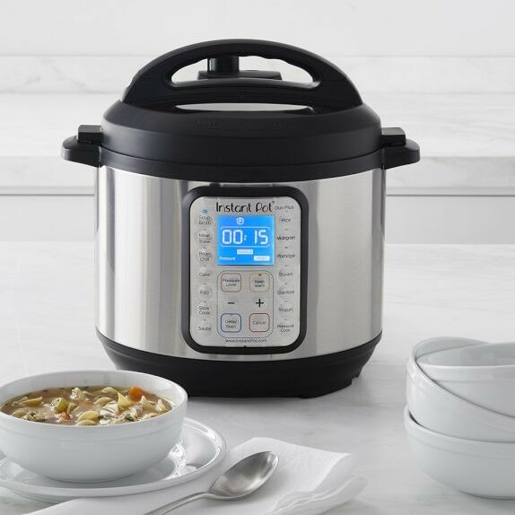 Instant Pot Duo Plus60 9-in-1 Multi-Use Programmable Pressure Cooker 6-Qt.