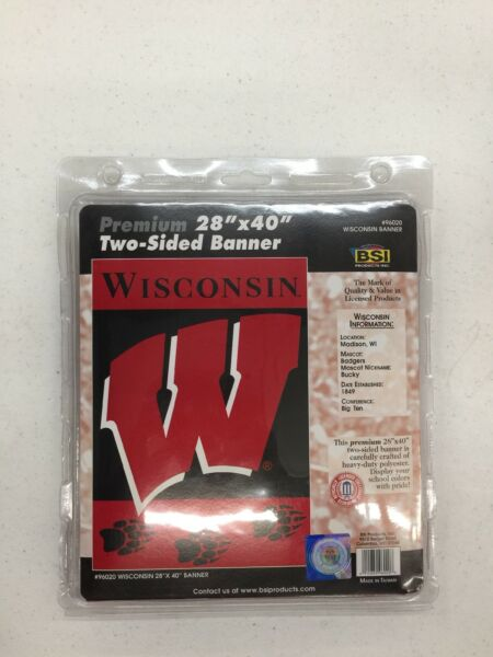 Wisconsin Badgers 2 Sided 28
