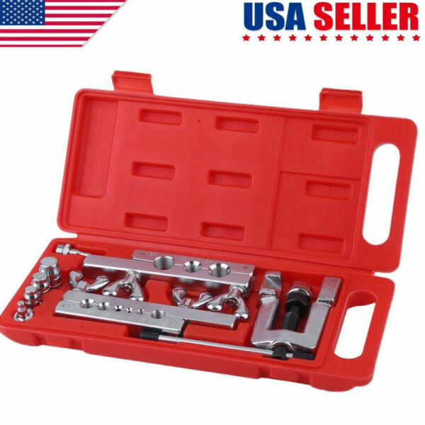HVAC Flaring and Swaging Tool Kit OD Soft Refrigeration Copper Tubing with Box
