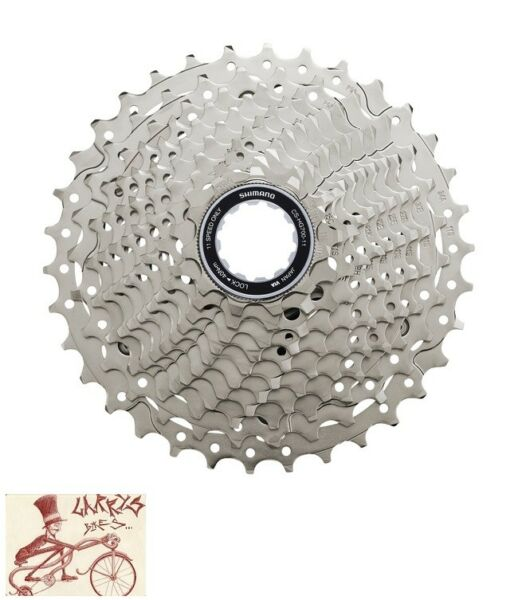 SHIMANO 105 CS-HG700 11-SPEED---11-34T MTB ROAD MOUNTAIN BICYCLE CASSETTE