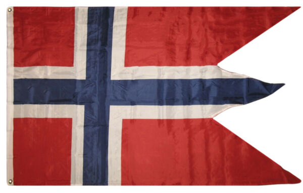 3x5 Norway War Swallow Tail Flag 3x5 Banner Grommets (Premium Polyester)