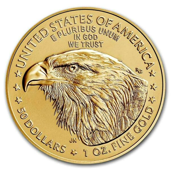 2020 Gold 1 oz Gold American Eagle $50 US Mint Gold Eagle Coin