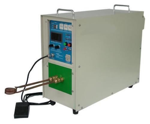 25KW High Frequency Induction Heater Furnace hot!