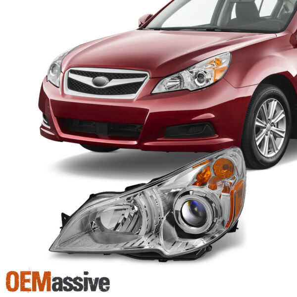 Fit 10-12 Subaru Legacy  Outback Headlight Front Lamp Driver Side Replacement