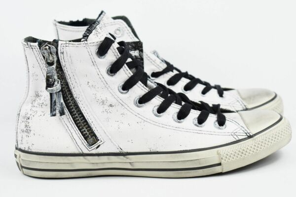 Converse John Varvatos Hi Mens Size 5.5 CTAS Zip Womens Size 7.5 Shoes 153884C
