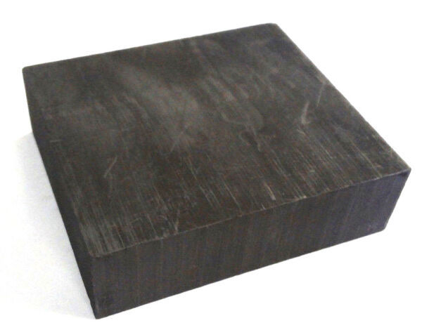 Graphite Blank Block Sheet Plate 2 x 2 x 34