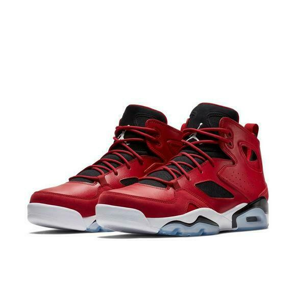 Jordan Jumpman Flight Club '91 Gym Red Black White 555475-600 Air Retro 6 7 Mens