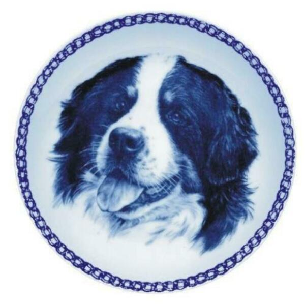 Bernese Mountain Dog - Dog Plate made in Denmark from the finest European Porcel
