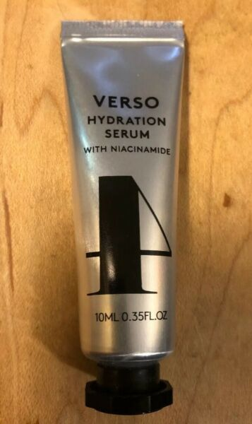Verso Hydration Serum with Niacinamide 10 ml Trial Size $33 Value