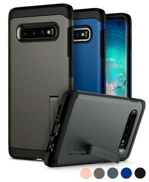Galaxy S10 S10 Plus S10e Spigen® [Tough Armor] Shockproof Case Cover