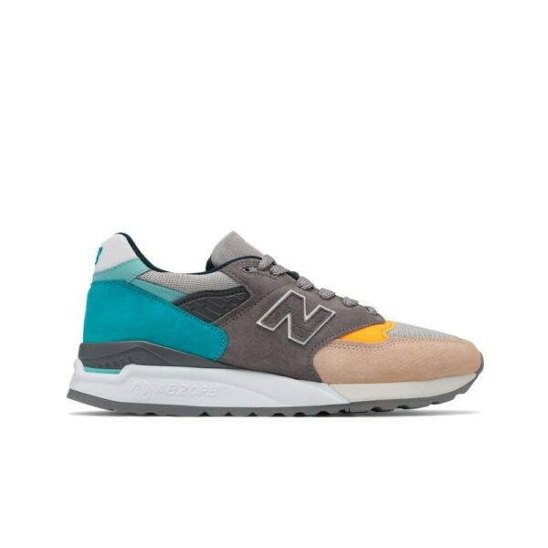 New Balance M998 Made in USA M998AWB (Grey/Blue) Men's Shoes