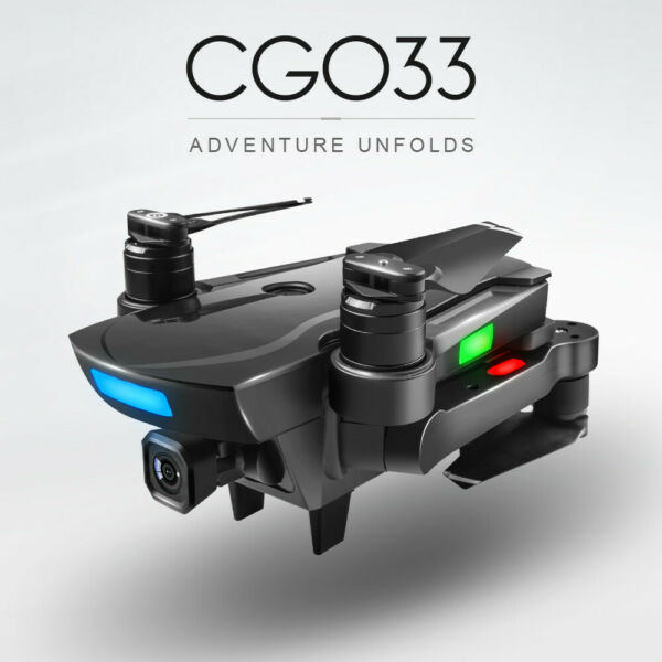 CG033 Brushless 2.4G FPV Wifi HD Camera GPS Altitude Hold Quadcopter Drone 2019