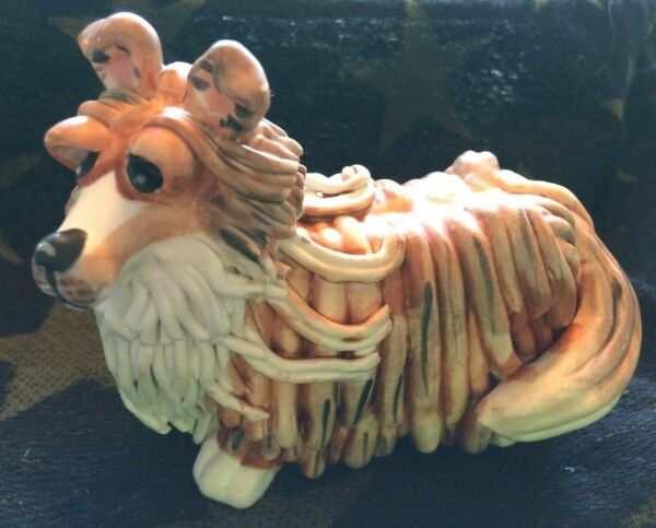 NEW TOP DOGS ROXIE THE SHELTIE FIGURINE BY LYNDA CORNEILL $12.34