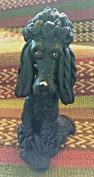 TOP DOGS #x27;#x27;SADIE THE POODLE#x27;#x27; FIGURINE BY LYNDA CORNIELLE $12.34