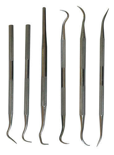 6 Piece Stainless Steel Pick Set O Ring Removal Tool Crafts Hobbies Tools $11.98