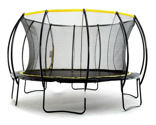 SkyBound Cirrus and Stratos Premium Trampolines wSafety Net 12ft-15ft ASTM Cert