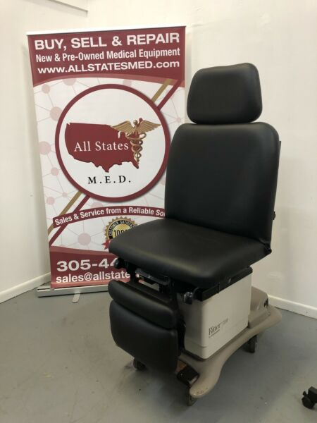 Midmark 230 Black Refurbished New Upholstery