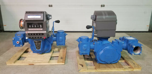 TCS PD Meter Model 700-35 20 to 300 GPM with Veeder Root PresetCounterPrinter