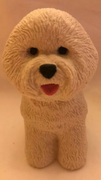 """4"""" Sand Sculpture Dog Made From Sand $17.99"""
