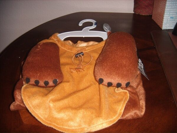 Disney Dog Xlarge One Piece Star Wars Ewok Outfit Official Merchandise NEW $15.00