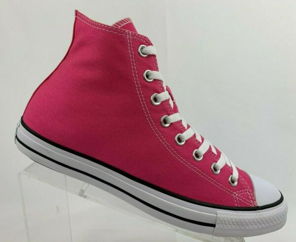 Converse Chuck Taylor All Star Pink Paper High Top Sneakers 147132F
