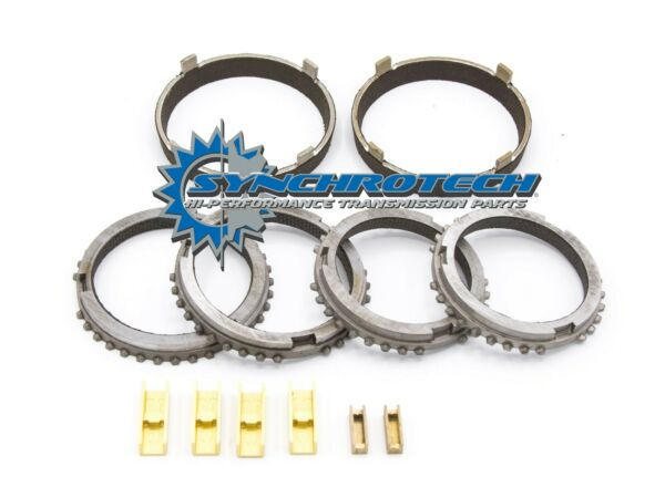 T45 Mustang Cobra GT Carbon Synchronizer Ring Set with Bronze Fork Pads $251.95