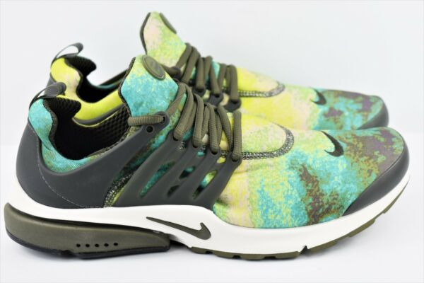 Nike Air Presto GPX Mens Size 12 Running Shoes Summer Graphic 848188 003 Green