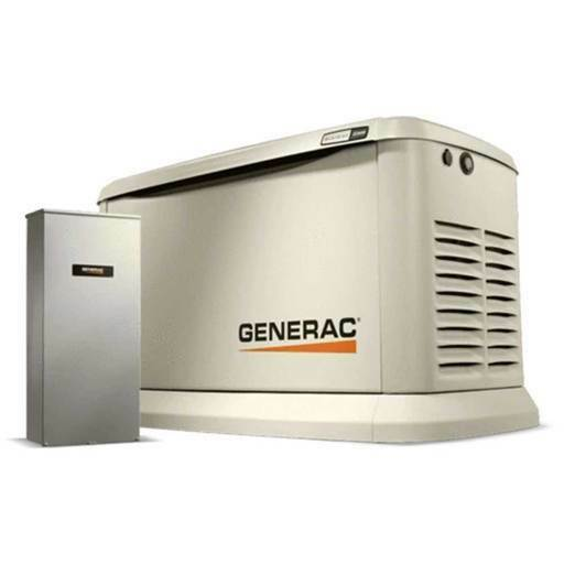 Generac 70432 22000-Watt Single Phase Auto Start Air Cooled Standby Generator