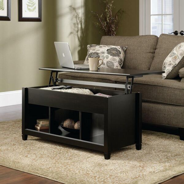 Lift Top Coffee Table Modern Furniture w/Hidden Storage Compartment