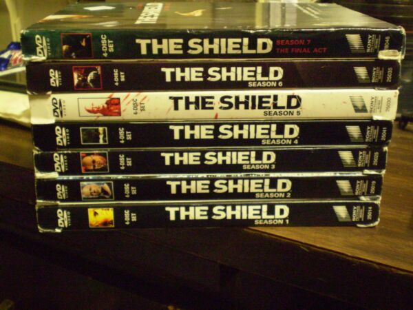 (7) The Shield Season DVD Lot: Seasons 1-7  wSlipcovers  Entire Series!!
