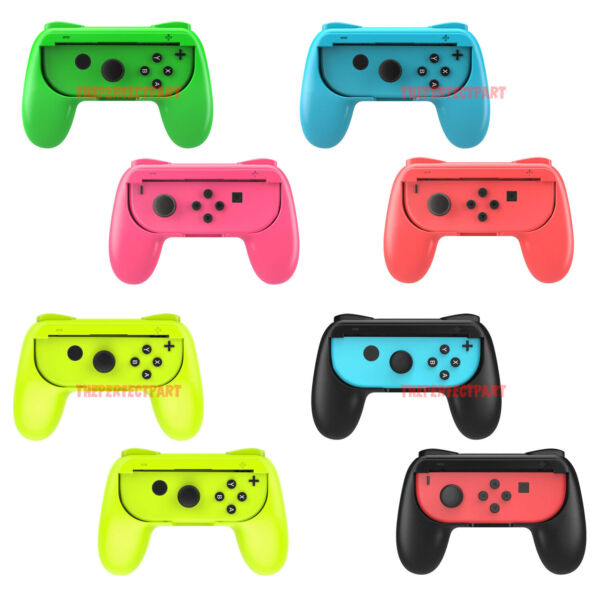2 Pack Switch Joy-Con Controller Handle Grip Kit For Nintendo Switch Console USA