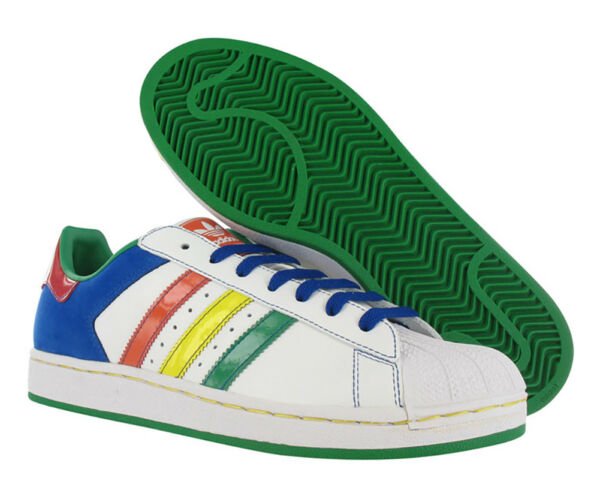 Adidas Superstar Ii Cb Mens Shoes White/multi-color