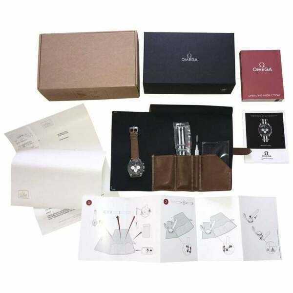 2012 BNIB OMEGA SPEEDMASTER SPEEDY TUESDAY FULL SET WRIST WATCH BOX PAPERS NEW