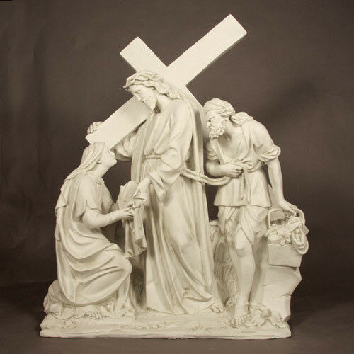 IndoorOutdoor Large Catholic Church Stations of Cross set of 14