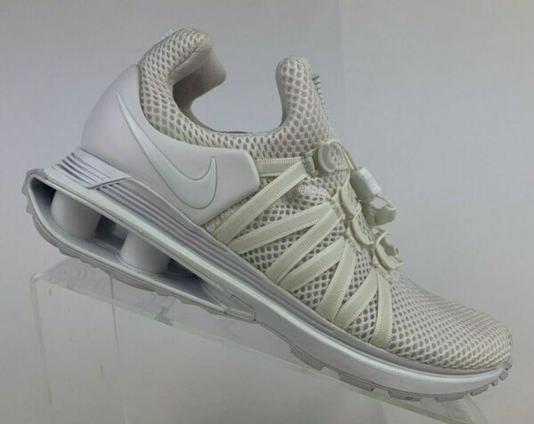 Nike Shox Gravity Triple White Womens Sportswear Running Shoes AQ8554-100