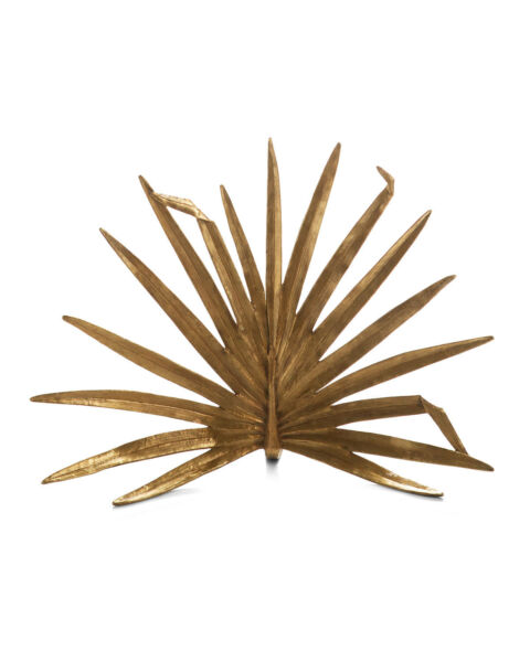 Palm Decorative Fireplace Screen Great Contrast For Your Contemporary Home Style