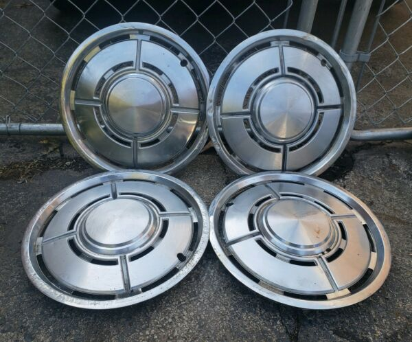 Vintage Set of 4 OEM 1979-80 Ford Pinto Mercury Bobcat 13