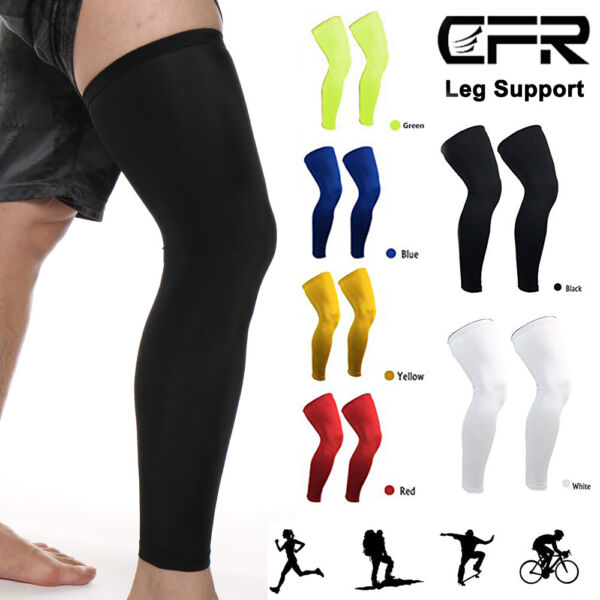 Copper Infused Leg Brace Knee High Compression Sleeve Socks Support Pain Relief