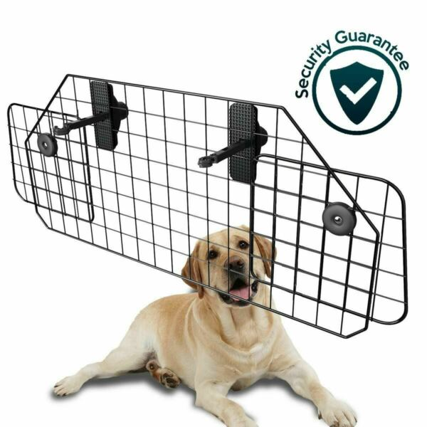 Adjustable Dog Barrier Pet Safety SUV Vehicle Car Cargo Area Trunk Mesh Wire $36.99