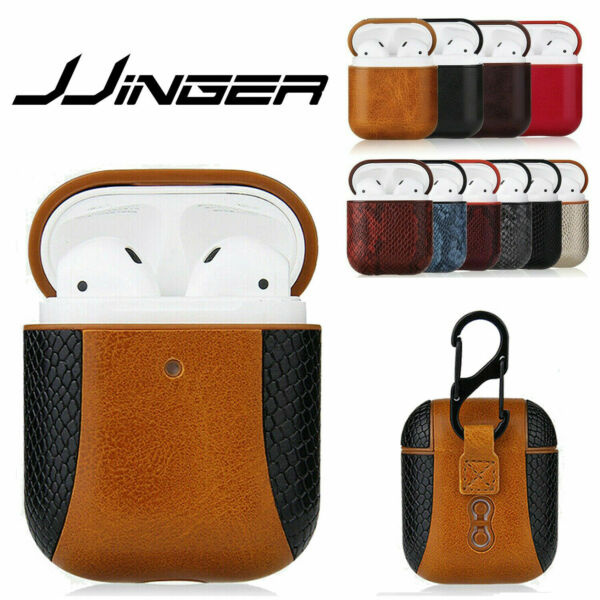 Luxury AirPods Case Leather Protective Cover Skin For Apple New AirPod PRO 2 1