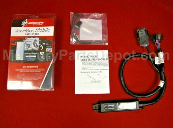 New Mercury OEM Vessel View Mobile Kit 8M0157078 8M0115080 iOS or Android $194.95