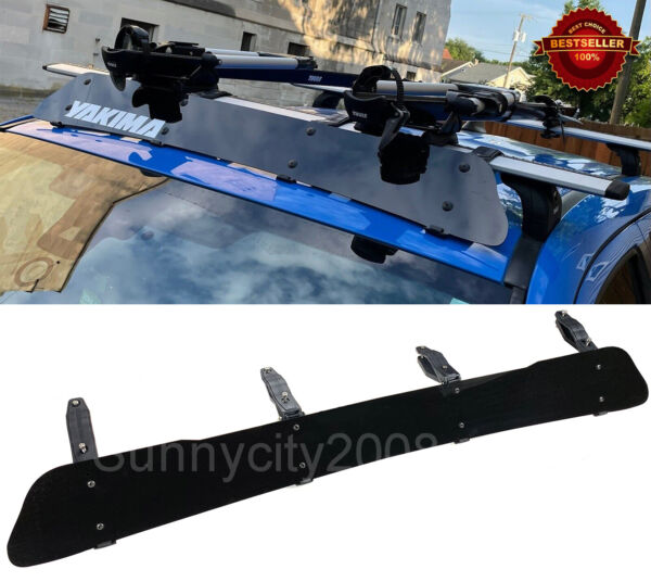 53quot; Black Roof Rack Wind Faring Deflector For Corss Bar Basket Fit Toyota Scion $64.92