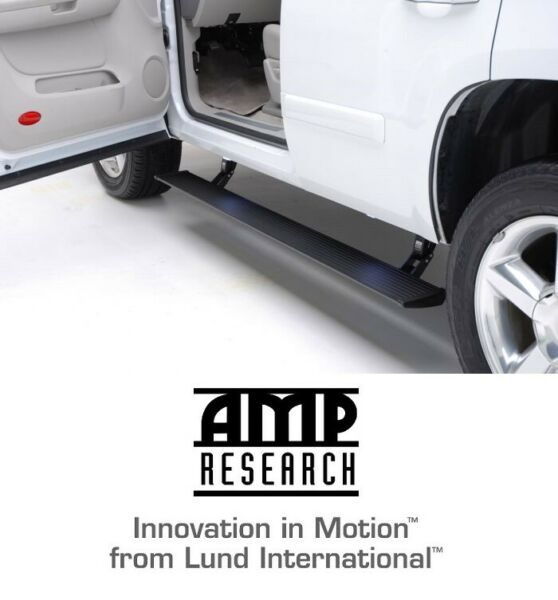 Amp Research Plug-n-Play Running Board Power Steps for 2019 Dodge Ram 1500