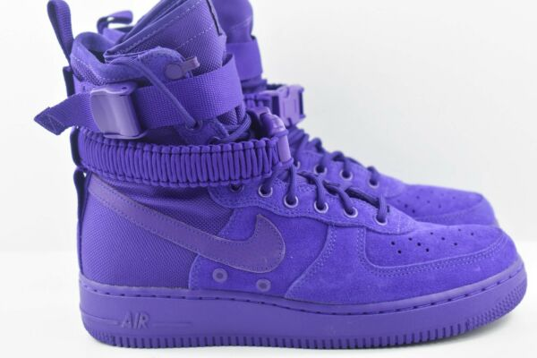 Nike SF AF1 Special Force Air Force 1 Mens Size 10.5 Shoes Purple 864024 500