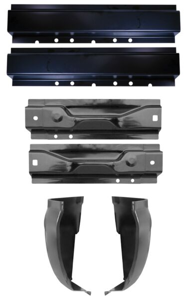 Front and Rear Rocker panel and Cab Corner Super Cab 99-16 Ford Super Duty KIT