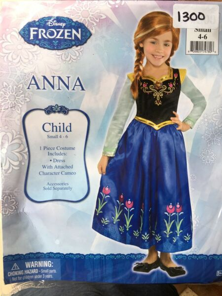 Disney Frozen Anna Child#x27;s Costume Small 4 6 $16.00