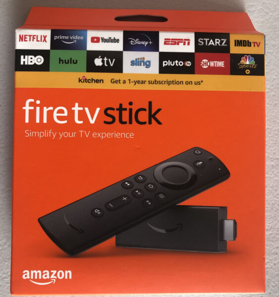 Amazon Fire TV Stick 3rd Gen with Alexa Voice Remote TV control HD 2020 Release*
